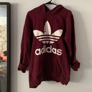 ADIDAS Sweatshirt Maroon